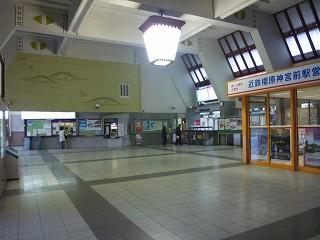 橿原神宮前駅(近鉄南大阪線・吉野線・橿原線)